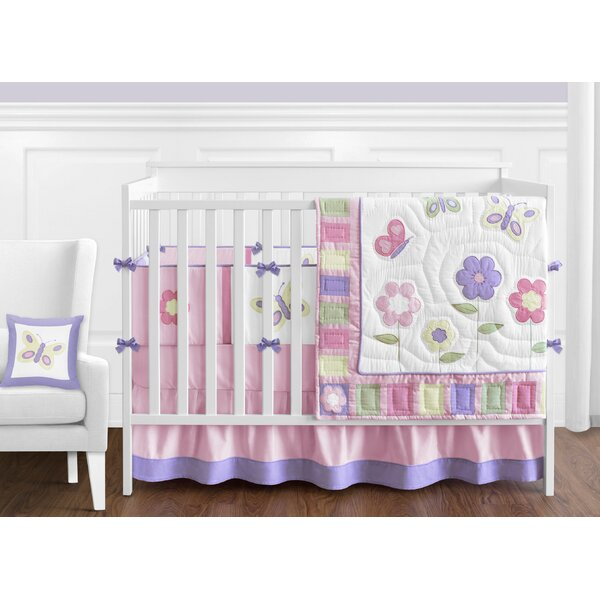 Butterfly 9 Piece Crib Bedding Set by Sweet Jojo Designs