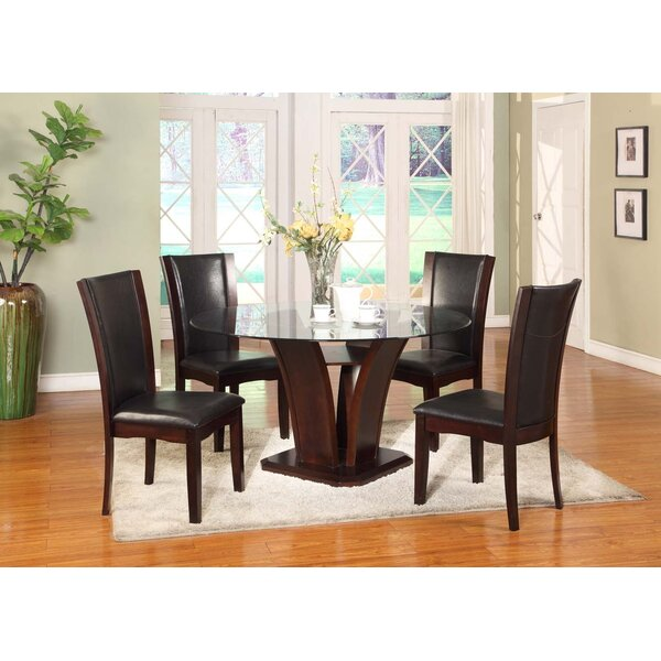 Herculis 5 Piece Dining Set by Latitude Run