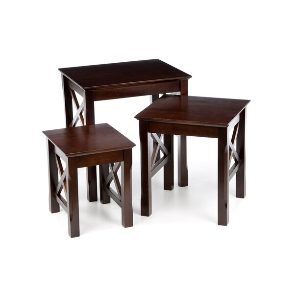 Toledo 3 Piece Nesting Tables by Charlton Home