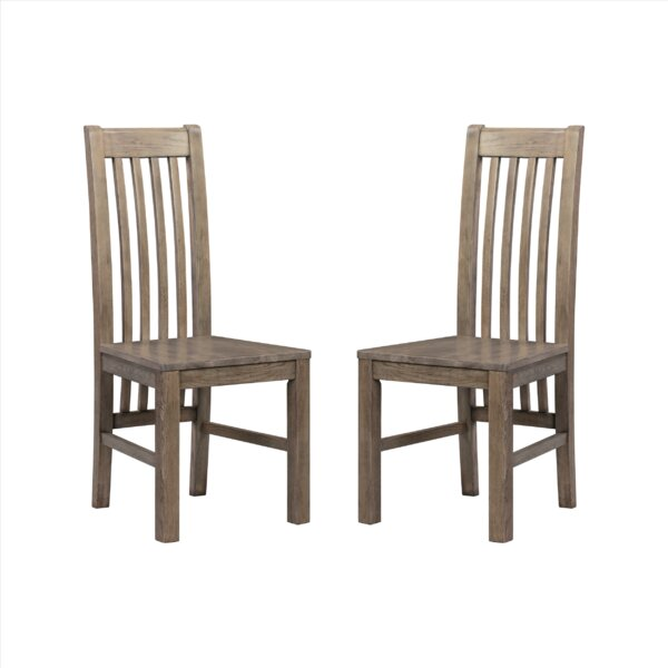 Covarrubias Solid Wood Dining Chair (Set Of 2) By Loon Peak
