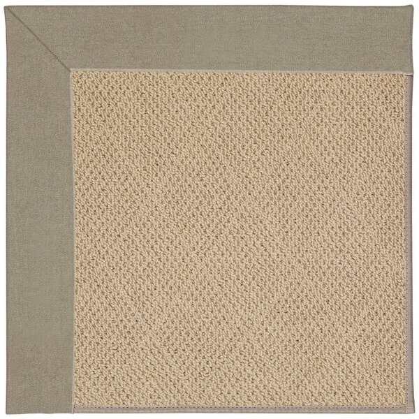 Lisle Machine Tufted Buff/Brown Indoor/Outdoor Area Rug by Longshore Tides