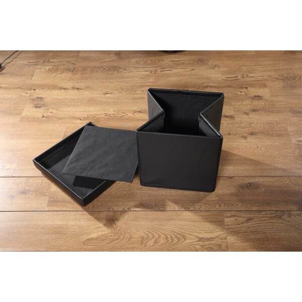 Fischer Storage Ottoman (Set of 4) by Latitude Run