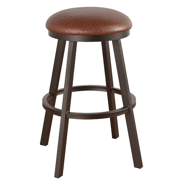 Andre 34 Swivel Bar Stool by Millwood Pines
