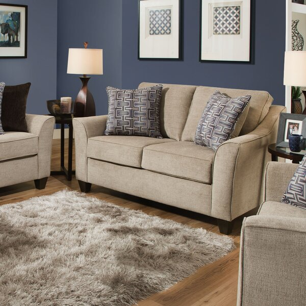 Fresh Henslee Loveseat by Alcott Hill by Alcott Hill