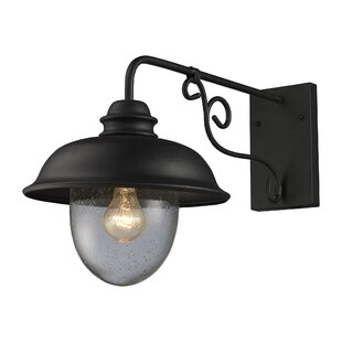 Looking for Ying Rustic 1-Light Outdoor Barn Light By Gracie Oaks