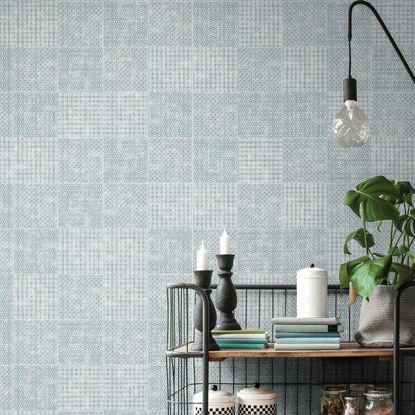 Bargello 8 x 8 Porcelain Field Tile