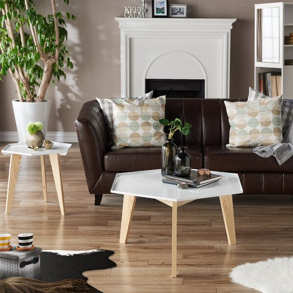 Eteuati 2 Piece Coffee Table Set By Ebern Designs