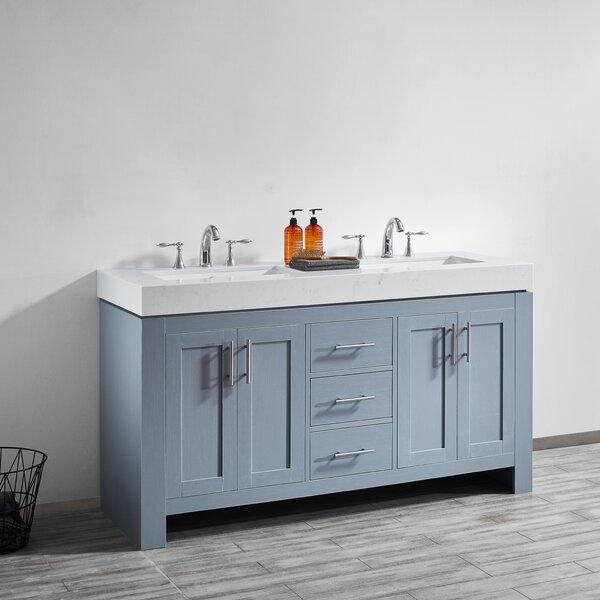 Aniakudo 60 Double Bathroom Vanity Set