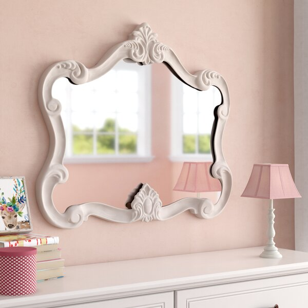 Gingerich Resin Contemporary Wall Mirror by Viv + Rae