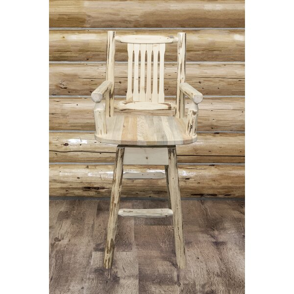 Tustin Swivel Solid Wood 30