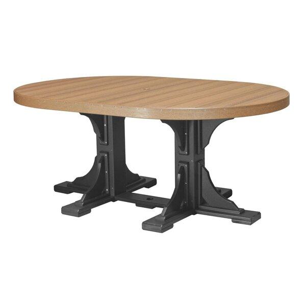 Karri Plastic Dining Table by Ebern Designs