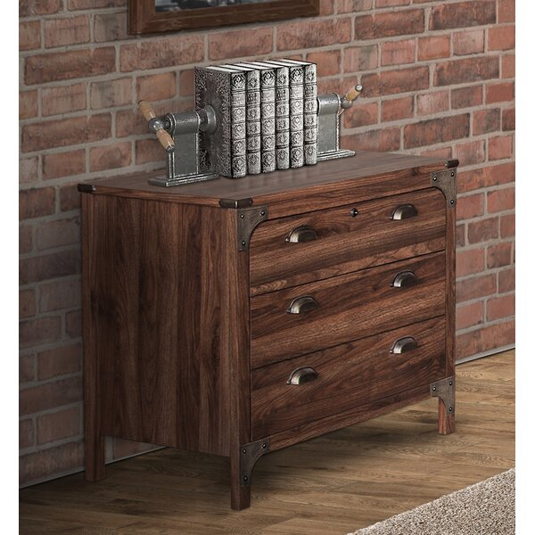 Wootton 3-Drawer Lateral Filing Cabinet