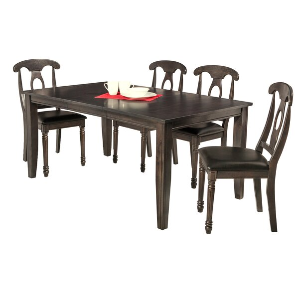 Haan 5 Piece Dining Set by Red Barrel Studio