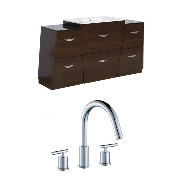Vee 56 Single Bathroom Vanity Set by American Imaginations