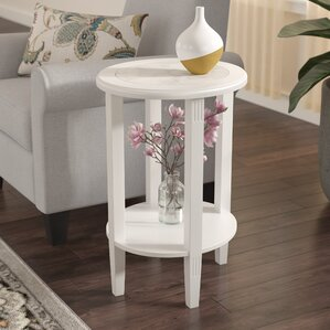 Versailles End Table by Charlton Home