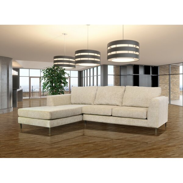 Winter Shop Delorenzo Left Hand Facing Sectional by Orren Ellis by Orren Ellis