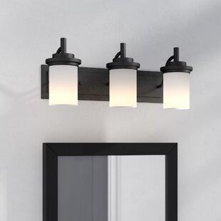 Reviews Dashiell 3-Light Vanity Light By Three Posts