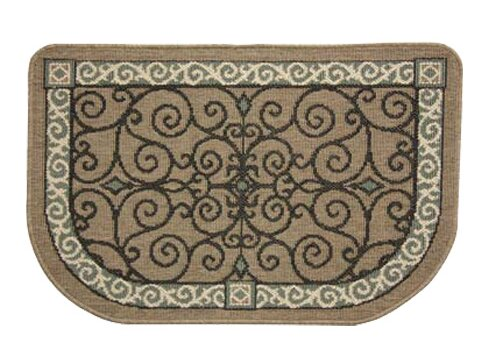 Eastly Scroll Textured Weave Area Rug by Pilgrim Hearth
