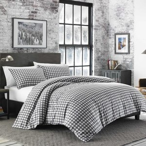 Preston Flannel Duvet Cover Set