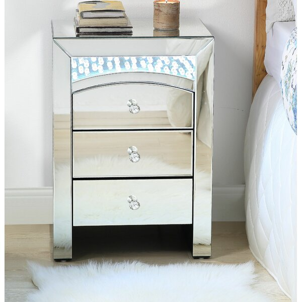 Jalynn 3 Drawer Nightstand by Rosdorf Park
