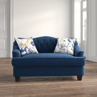 Beverly 62 Recessed Arm Loveseat by Feminine French Country