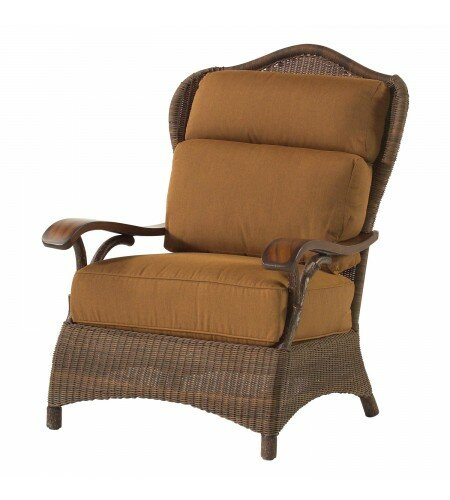 Chatham Patio Chair with Cushions by Woodard