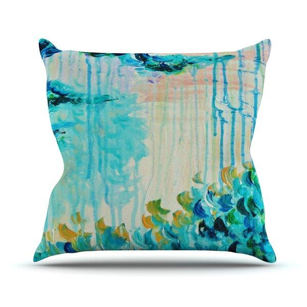 Poseidons Wrath by Ebi Emporium Outdoor Throw Pillow by East Urban Home