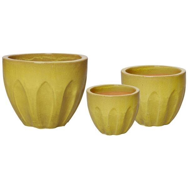 Garrett Ceramic Pot Planter by George Oliver