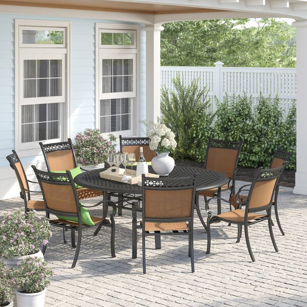Curacao 9 Piece Dining Set by Sol 72 Outdoor