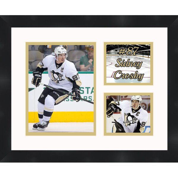 Pittsburgh Penguins 2016 Stanley Cup Sidney Crosby Collage Picture Frame by Frames By Mail