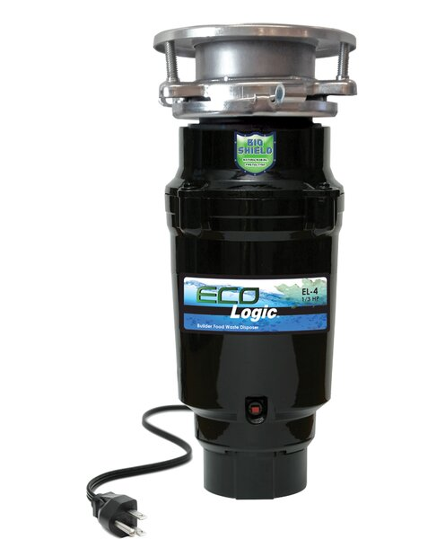 1/3 HP Continuous Feed Garbage Disposal by Eco Logic