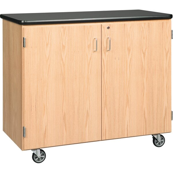 Standard Mobile Storage Cabinet by Diversified Woodcrafts