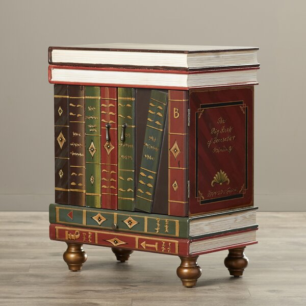Bladwell Wooden End Table by World Menagerie