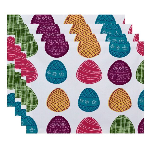Funky Junky Eggs-ellent! Placemat (Set of 4) by The Holiday Aisle