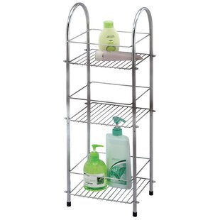 Chrome 3 Tier Bathroom Shelf
