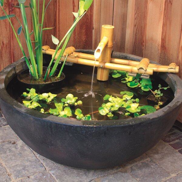Bamboo Pouring Fountain by Aquascape