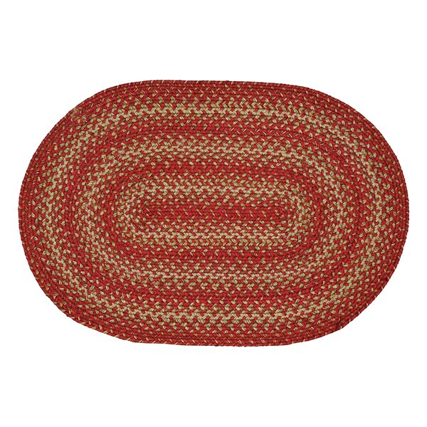 Apple Pie Red Area Rug by Homespice Decor