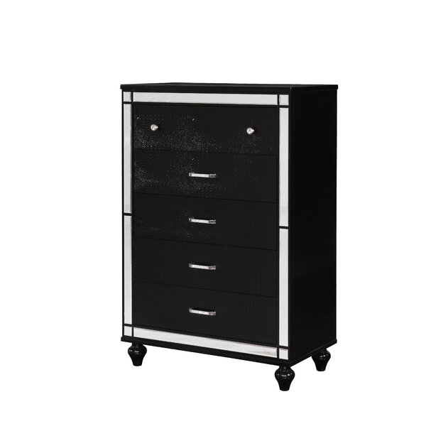 Meserve Contemporary 5 Drawer Chest by House of Hampton