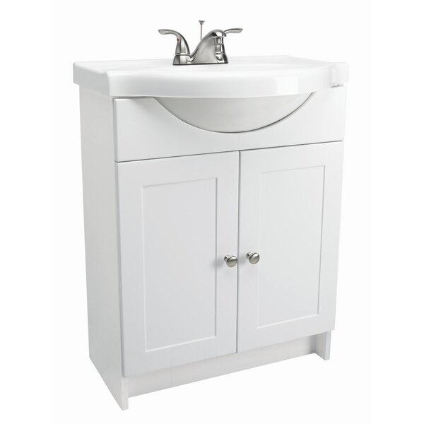 Euro 24 Single Bathroom Vanity Set by Design House