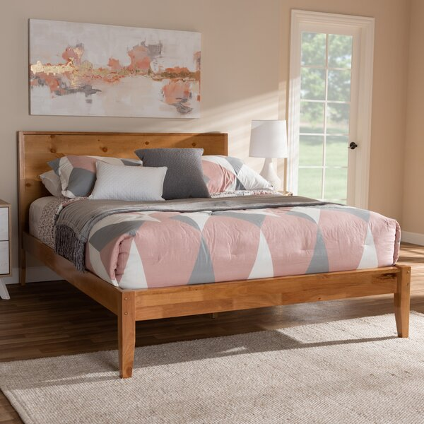 Forgey Platform Bed by Millwood Pines Millwood Pines