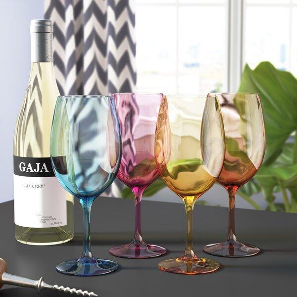 20 Oz Wine Glass Set (Set of 4) by Latitude Run