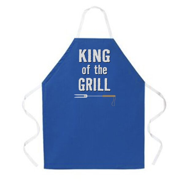 King of The Grill Apron by Attitude Aprons by L.A. Imprints