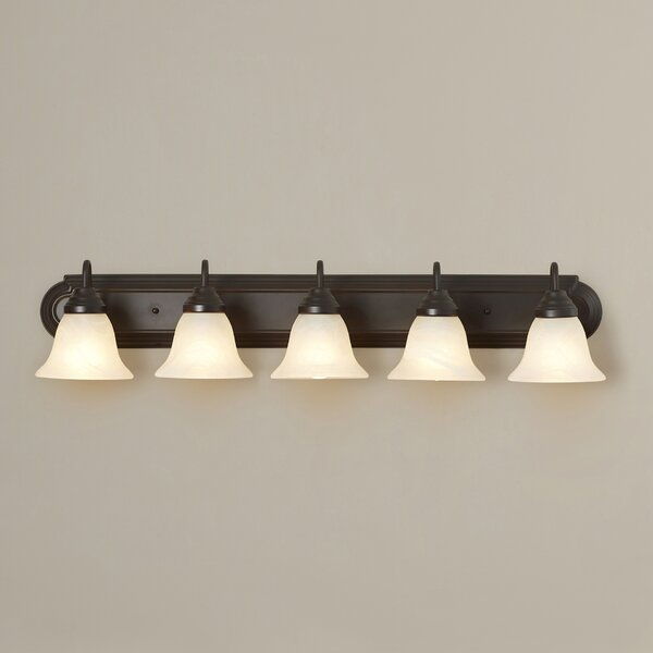 Beveridge 5-Light Vanity Light by Three Posts