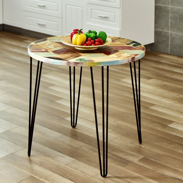 Review Dareau Reclaimed Wood End Table