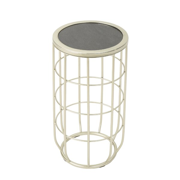 Duclos Iron Side Table by Ebern Designs