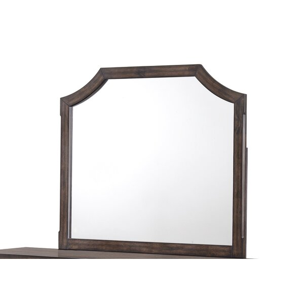 Zhang Arched Dresser Mirror by Gracie Oaks