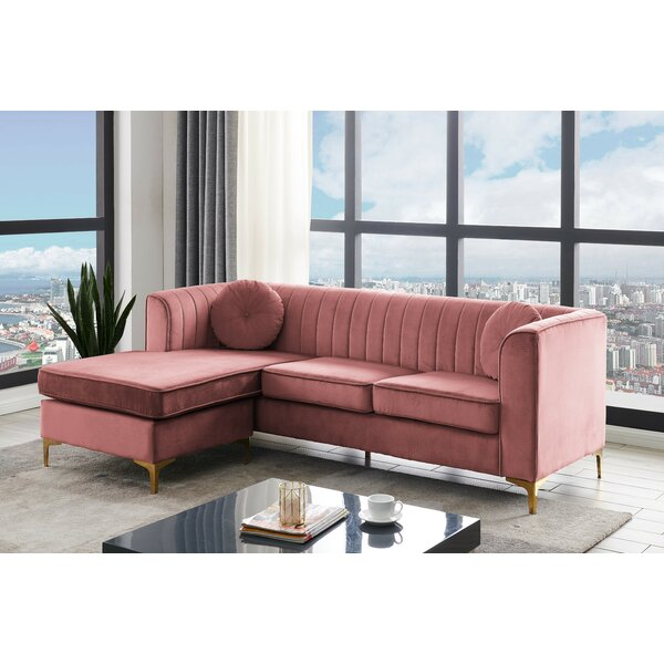 Cargill Reversible Modular Sectional By Everly Quinn