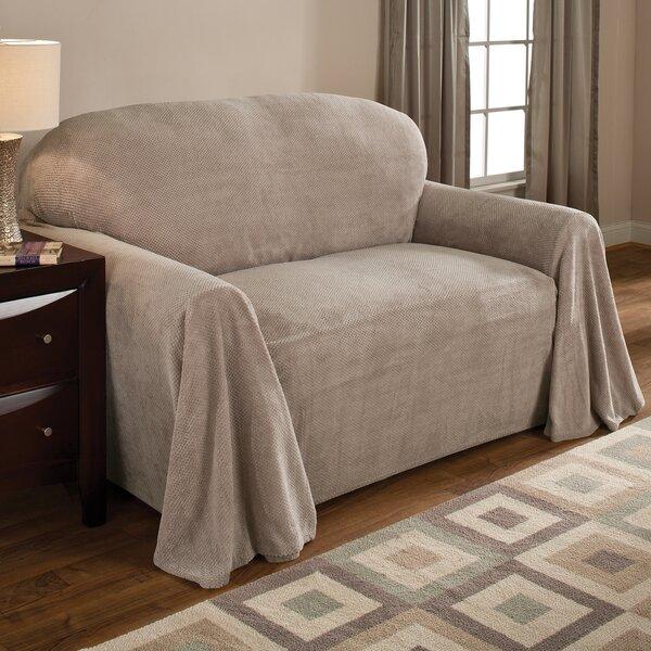 Coral Box Cushion Sofa Slipcover by Innovative Tex