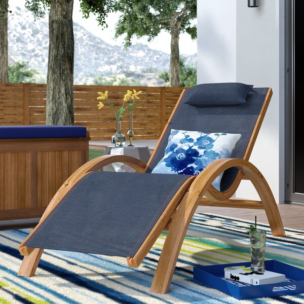 Romero Reclining Chaise Lounge by Ebern Designs Ebern Designs