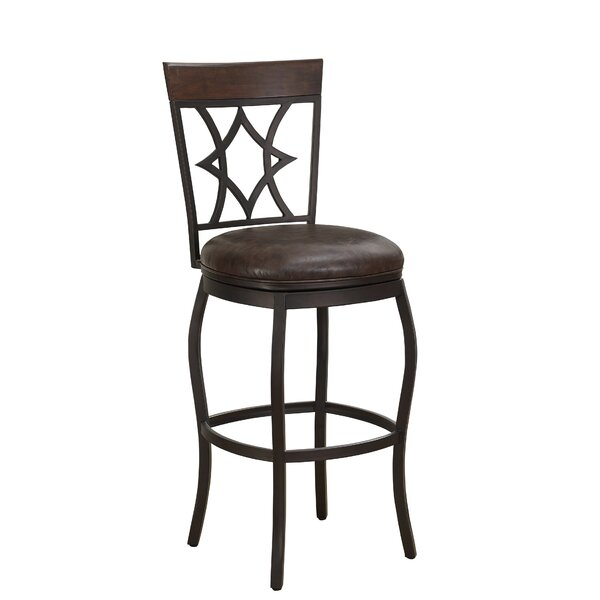 Buchanan 30 Swivel Bar Stool by Darby Home Co